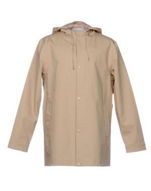 Легкое пальто ONTOUR. Цвет: бежевый