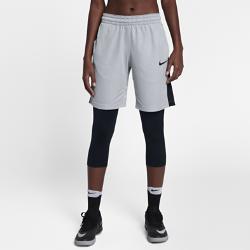 Женские баскетбольные шорты  Dry Essential 25,5 см Nike. Цвет: серый