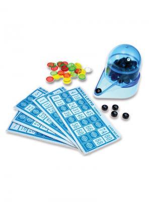 Игра настольная  Бинго Classic. Цвет: голубой, белый