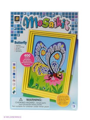 Мозаика Бабочки AMAV. Цвет: голубой