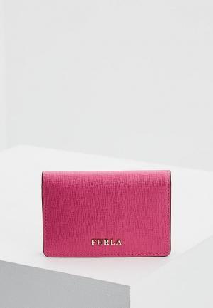 Визитница Furla. Цвет: розовый