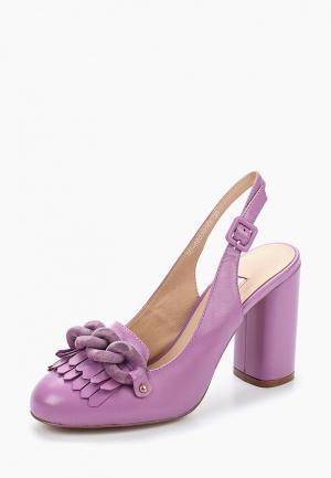 Туфли Elche. Цвет: фиолетовый