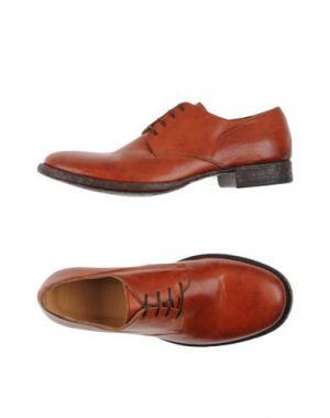 Обувь на шнурках 01000010 BY BOCCACCINI. Цвет: ржаво-коричневый