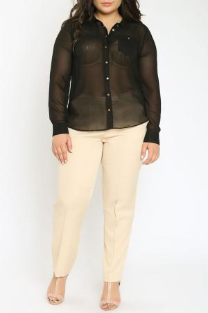 Блузка Emma Monti. Цвет: черный
