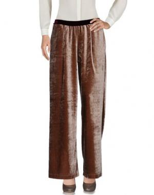 Повседневные брюки SOHO DE LUXE. Цвет: коричневый