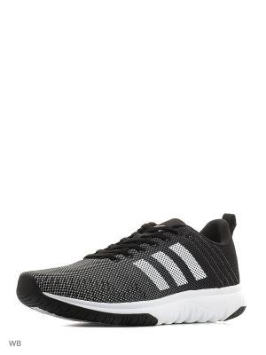 Кроссовки CLOUDFOAM SUPER FLE CBLACK/FTWWHT/ONIX Adidas. Цвет: черный, белый
