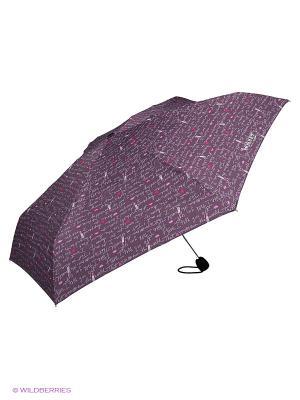 Зонты Isotoner. Цвет: белый, розовый, сиреневый