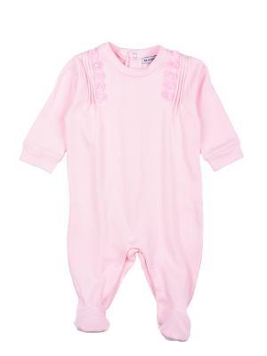 Комбинезон нательный для малыша MANAI. Цвет: розовый