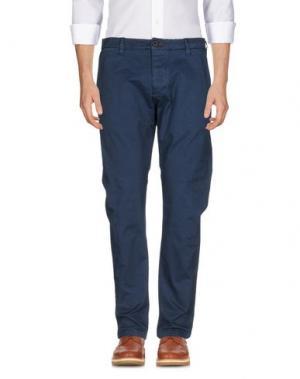 Повседневные брюки RANSOM. Цвет: темно-синий