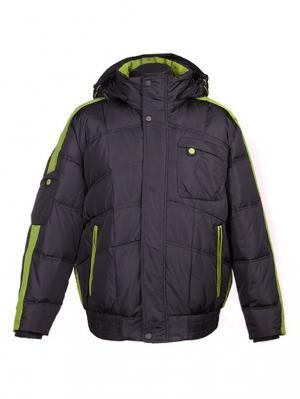 Куртка Mirage-MV. Цвет: черный, салатовый