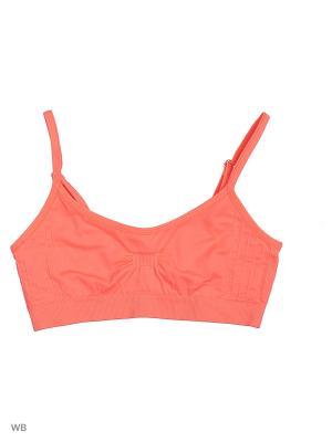Топ-бра Reserved. Цвет: оранжевый