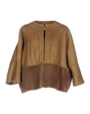 Куртка GOLD CASE. Цвет: светло-коричневый