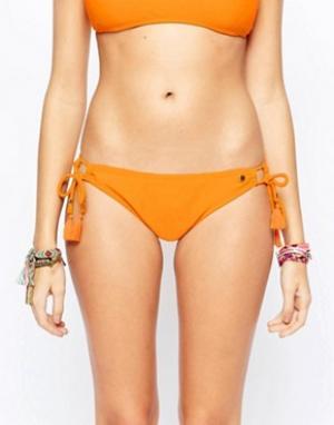Raisins Плавки бикини Island Sweet Pea. Цвет: оранжевый