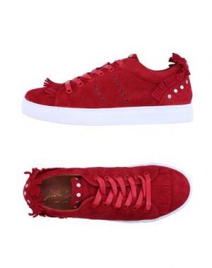 Низкие кеды и кроссовки BIBI LOU. Цвет: красный