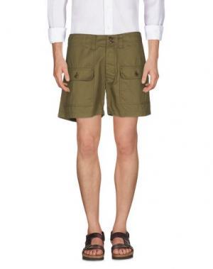 Повседневные шорты TS(S). Цвет: зеленый-милитари