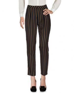 Повседневные брюки BONSUI. Цвет: черный