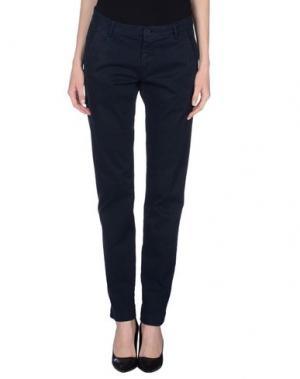 Повседневные брюки NICHOL JUDD. Цвет: грифельно-синий