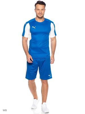 Футболка Dominate SS Shirt Puma. Цвет: синий