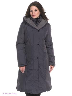 Пальто KAROLIINA Maritta. Цвет: темно-серый