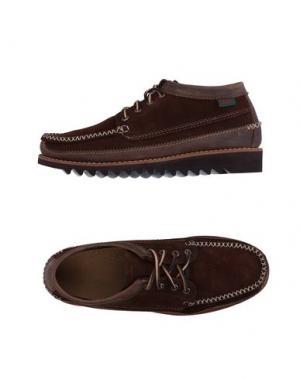 Обувь на шнурках G.H. BASS & CO. Цвет: какао