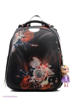 Рюкзак STERNBAUER. Цвет: черный, красный