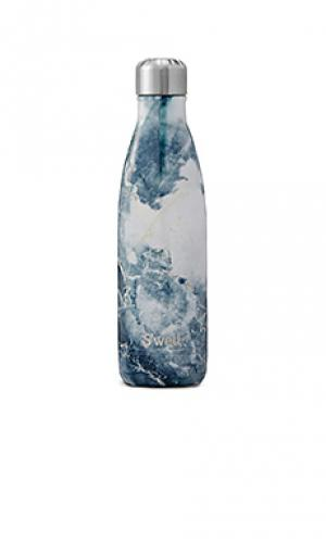 Бутылка для вода объёма 17 унций elements Swell S'well. Цвет: синий