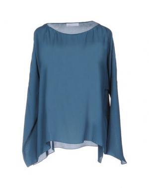 Блузка N_8. Цвет: грифельно-синий