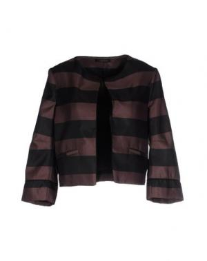 Пиджак SOALLURE. Цвет: светло-коричневый