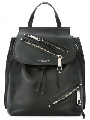 Рюкзак Zip Pack Marc Jacobs. Цвет: чёрный