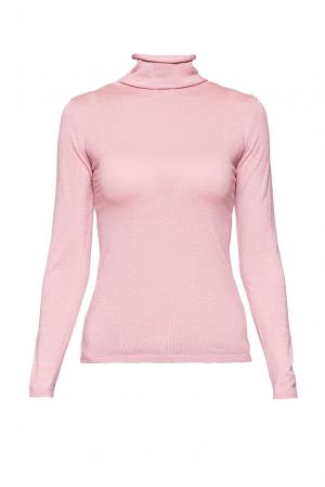 Джемпер из шерсти и шелка с кашемиром PL-170662 Andre Maurice. Цвет: розовый