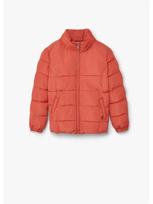 Куртка - ALI7 Mango kids. Цвет: оранжевый