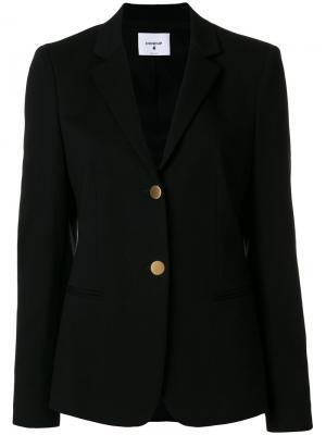 Button-down blazer Dondup. Цвет: чёрный