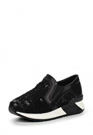 Кроссовки Damerose. Цвет: черный