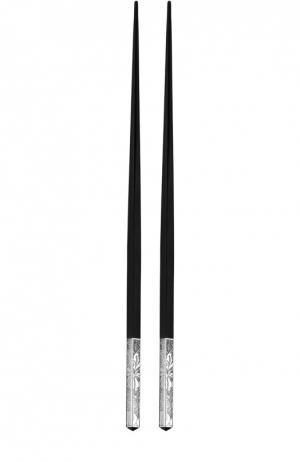 Китайские палочки Jardin DEden Christofle. Цвет: бесцветный