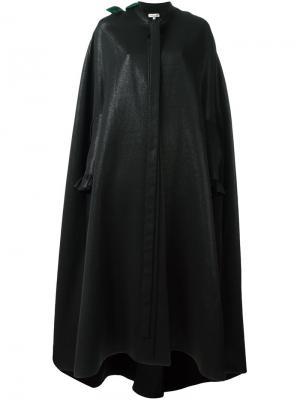 Свободное пальто Natasha Zinko. Цвет: чёрный