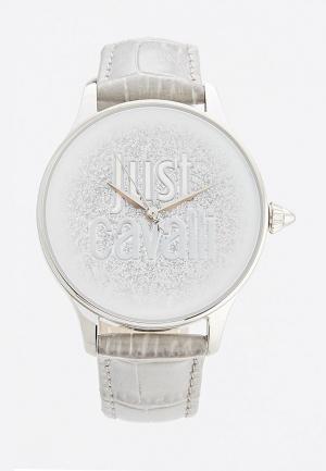 Часы Just Cavalli. Цвет: серый