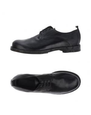Обувь на шнурках LUCA VALENTINI. Цвет: черный