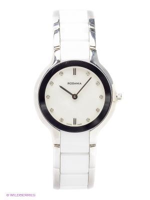 Часы RODANIA. Цвет: белый