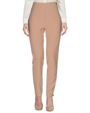 Повседневные брюки SONIA FORTUNA. Цвет: бежевый