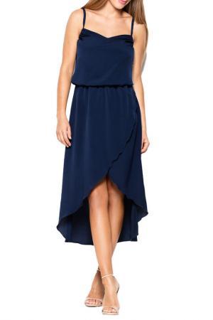 Платье KATRUS. Цвет: navy blue