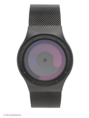 Наручные часы Mercury Black - Purple Ziiiro. Цвет: черный, лиловый