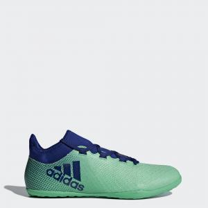 Футбольные бутсы (футзалки) X Tango 17.3 IN  Performance adidas. Цвет: зеленый