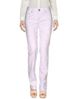 Повседневные брюки SEVEN7. Цвет: сиреневый