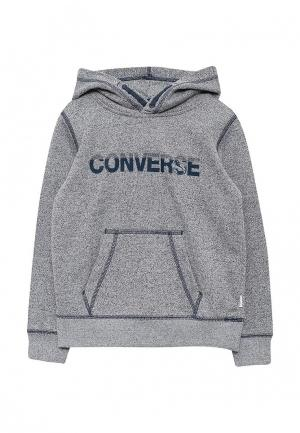Худи Converse. Цвет: синий