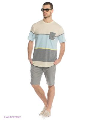 Шорты KRANDY SHORT 19 Quiksilver. Цвет: серый