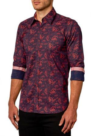 Рубашка Gabano. Цвет: красный