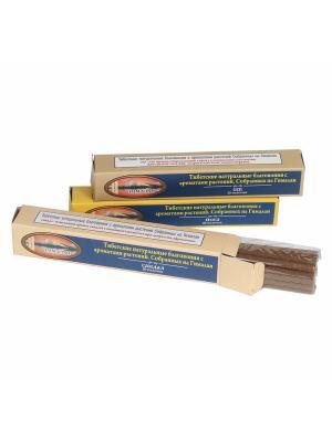 Набор ароматических тибетских  безосновных палочек (масала), 3 аромата Индокитай. Цвет: прозрачный