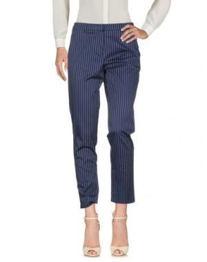 Повседневные брюки SFIZIO. Цвет: темно-синий