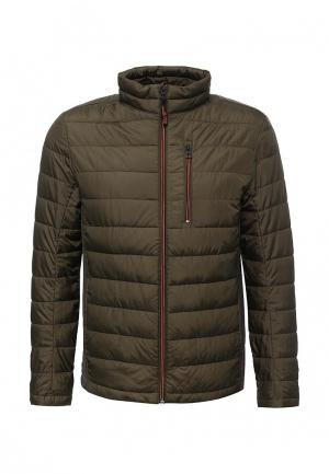 Куртка утепленная Tom Tailor. Цвет: хаки