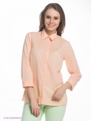 Блузка LERROS. Цвет: персиковый